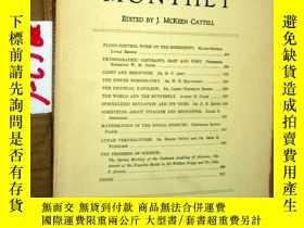 二手書博民逛書店SCIENTIFIC罕見MONTHLY 科學月刊1930年6月