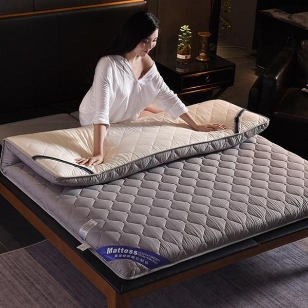 加厚床墊床褥1.5m床1.8米軟墊雙人家用褥子單人學生宿舍海綿墊被  ATF  魔法鞋櫃