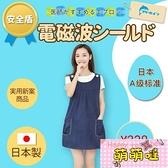 日本防輻射服孕婦裝圍裙連衣裙懷孕期上班衣服內穿防電腦四季【萌萌噠】
