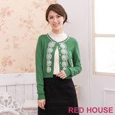 RED HOUSE-蕾赫斯-圈圈亮片小外套(綠色)
