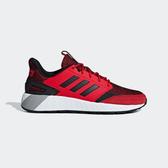 ADIDAS QUESTARSTRIKE [G25772] 男鞋 運動 慢跑 休閒 緩震 舒適 健身 輕量 愛迪達 紅黑