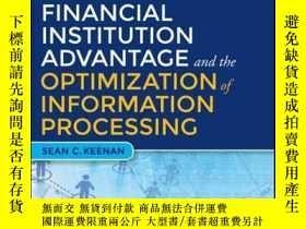 二手書博民逛書店Financial罕見Institution Advantage and the Optimization of
