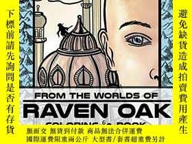 二手書博民逛書店From罕見the Worlds of Raven Oak: Coloring BookY360448 Rav