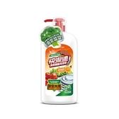 快潔適蔬果碗盤洗潔精-天然甜橙1000gm【愛買】