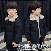 兒童羽絨服 反季冬裝6男童加厚棉衣外套8兒童中大童女寶寶棉襖男孩洋氣棉服潮 嬡孕哺