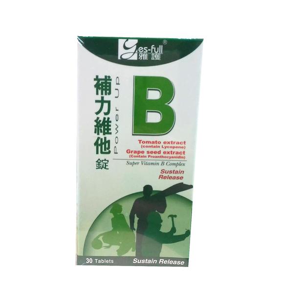 雅護 補力維他-B持續錠 30錠【德芳保健藥妝】B群