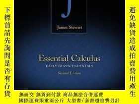 全新書博民逛書店EssentialCalculus: Early Transcendentals-基本微積分:早期先驗論Y43
