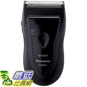 [105美國直購] Panasonic ES3831K Single Blade Travel Shaver, Black 電動刮鬍刀