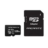 ARCANITE 128G microSD U3 V30 A1記憶卡+轉卡【愛買】