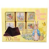 法國【波特小姐】70%可可脆粒黑巧克力薄片120g