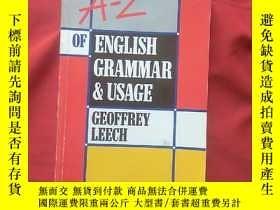 二手書博民逛書店AN罕見A Z OF ENGLISH GBAMMAB USAGE