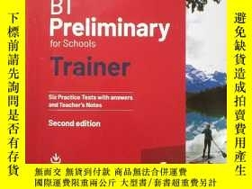 二手書博民逛書店劍橋PET考試罕見B1 Preliminary for Schools Trainer...SECOND EDIT