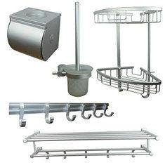 鎂鋁合金超人氣浴室五件套
