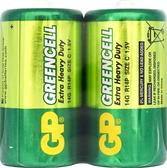 GP超霸特級環保碳鋅電池2號-2入