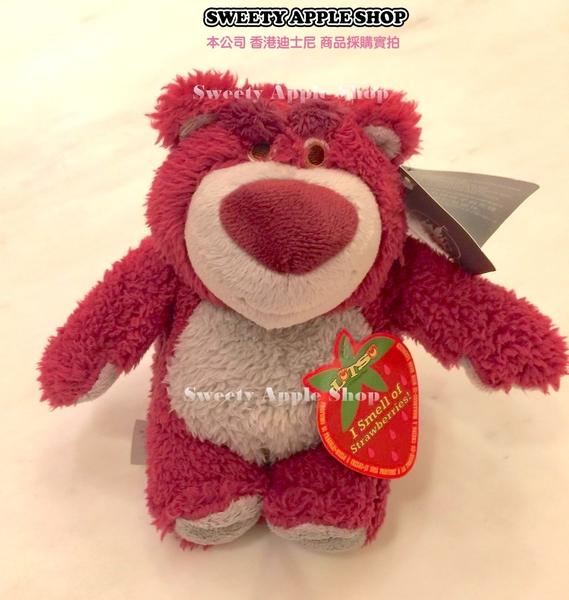 (現貨&樂園實拍) 香港迪士尼 樂園限定  玩具總動員 熊抱哥 草莓香氛 S size 玩偶娃娃