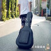 加厚吉他包41寸40寸民謠個性學生用琴包後背防水防震古典木吉他袋