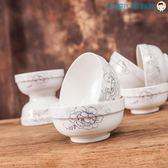 雙十二狂歡10個裝面碗5.5英寸湯碗陶瓷【洛麗的雜貨鋪】