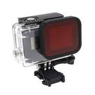 TELESIN GoPro HERO 5 透明防水殼+濾鏡