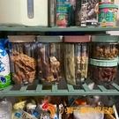 寵物零食儲糧桶狗貓糧儲存盒分裝收納筒密封防潮罐【小獅子】
