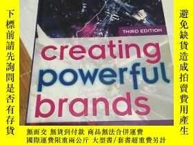 二手書博民逛書店creating罕見powerful brands(third