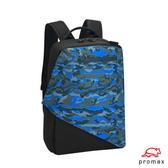 PROMAX MODE系列- (出清價65折) 13吋電腦背包-黑/迷彩藍