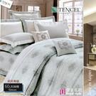 『皇室風範』5*6.2尺/床罩組/藍*╮☆【御芙專櫃】七件套100%高觸感天絲棉60s/雙人