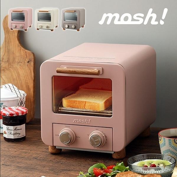 日本【mosh!】可愛烤麵包機/烤箱M-OT1