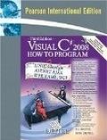二手書博民逛書店 《Visual C# 2008 How to Program》 R2Y ISBN:9780137011834│Harvey&Paul