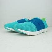 PONY 水藍 網布 繃帶 休閒鞋 基本款 懶人鞋 女 # 63W1FR61CB ☆SP☆
