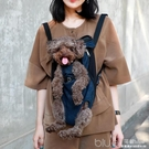 現貨 狗狗背帶包雙肩胸前寵物背包泰迪比熊...