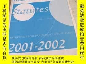 二手書博民逛書店GREENS罕見MERCANTILE STATUTES2001---2002Y14197 不會翻譯均以圖片為準