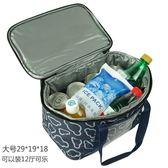 保溫包 手提飯盒袋小號防漏冰包冰袋戶外帶飯冷藏保鮮便當包LX 全館免運