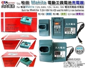 ✚久大電池❚ 牧田 Makita 電動工具充電器 7.2V~18V 鎳鎘 鎳氫 鋰電池 DC18RA DC18RC