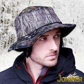 迷彩登山帽-禦寒可換色夜行安全迷彩保暖超大頭圍高頂漁夫護耳帽J3634 JUNIPER