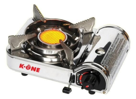 卡旺188迷你遠紅外線不鏽鋼卡式爐(K1-188S) 附膠盒