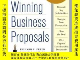二手書博民逛書店Writing罕見Winning Business Propos