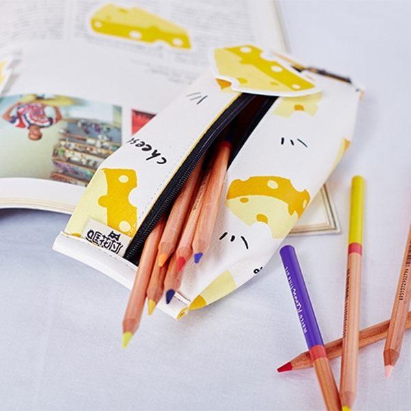 筆袋-搞怪餅乾包裝筆袋/鉛筆盒/收納包/零錢包/文具-共4色-FuFu