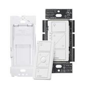 [8美國直購] 調光開關 Lutron Caseta Wireless Smart Dimmer Switch and Remote Kit, P-PKG1WB-WH White