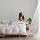天絲 床包被套組(薄) 雙人【澄夏】涼感 親膚 100%tencel 萊賽爾纖維 翔仔居家
