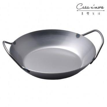 Turk 土克 冷鍛雙耳平底碳鋼鐵鍋 28cm 66928 德國製