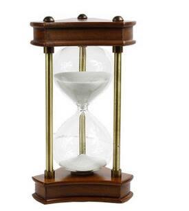 30/60分鐘時間沙漏計時器 時光左岸創意辦公室擺件-3