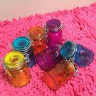 彩色玻璃禮品罐