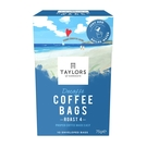 英國Taylors泰勒咖啡 -泰勒 低咖啡因 茶包式浸泡咖啡 咖啡包 7.5g*10入/盒-期限:2021/10