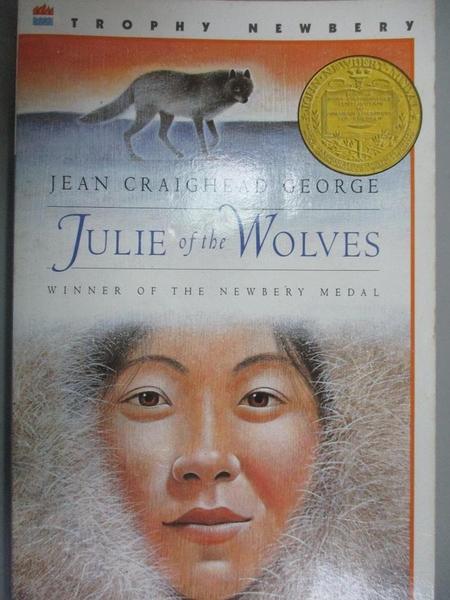 【書寶二手書T5/語言學習_GTF】Julie of the Wolves_George, Jean Craighead