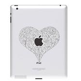 【東西商店】Ozaki iCoat Relief new iPad/iPad 2專用仿鋁材質浮雕機背貼紙