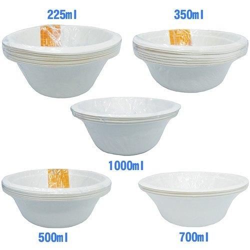 綠色餐具 飯碗綜合組 (225ml+350ml+500ml+700ml+1000ml)/組【康鄰超市】