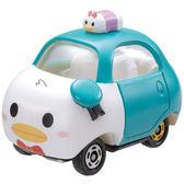 《TOMICA》夢幻 TSUM TSUM 疊疊樂小汽車 - 唐老鴨  ╭★ JOYBUS玩具百貨