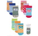 [Mamae] (3雙/組)美國 Luvable Friends 造型棉質寶寶襪子 初生嬰兒必備套裝組 出生嬰兒幼兒禮盒 襪子