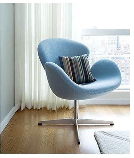 【南洋風休閒傢俱】設計單椅系列 -天鵝椅 經典休閒椅 洽談椅 單椅(504-5)