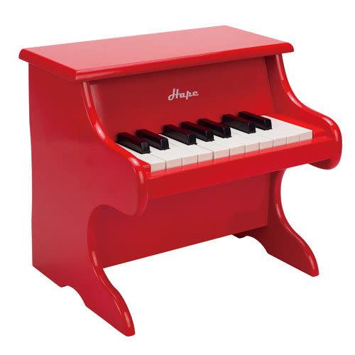 德國Hape愛傑卡 -音樂小鋼琴-紅 2384元